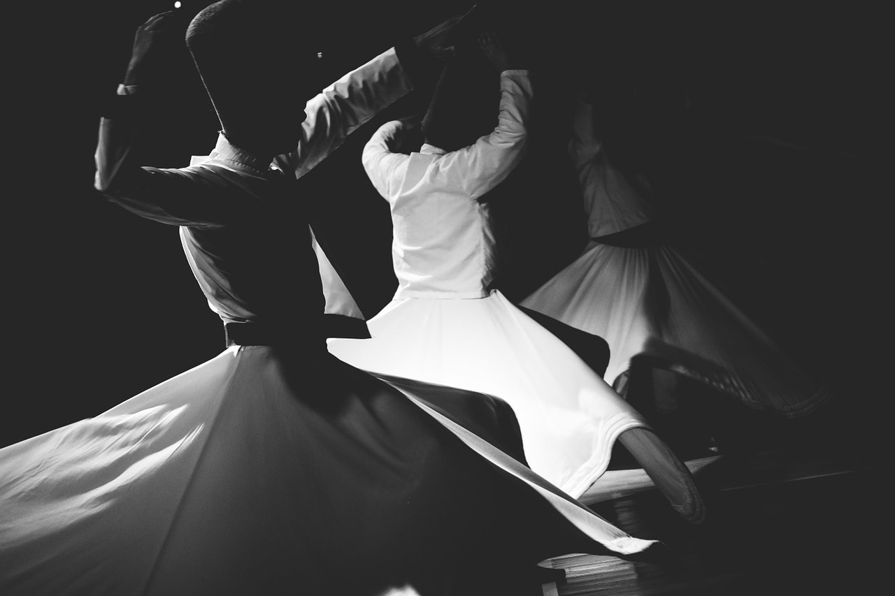 Sufi meditation whirling