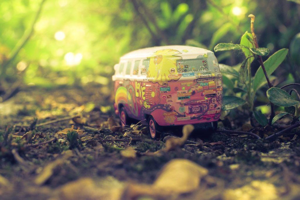 Hippie Toy Van