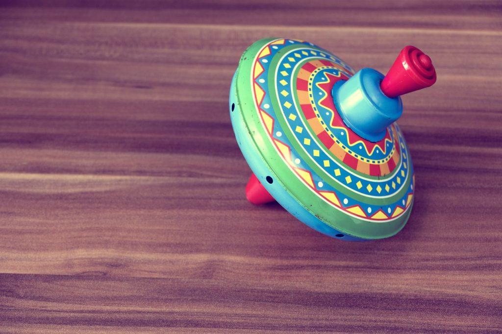 Creative Kids Toy that Spins