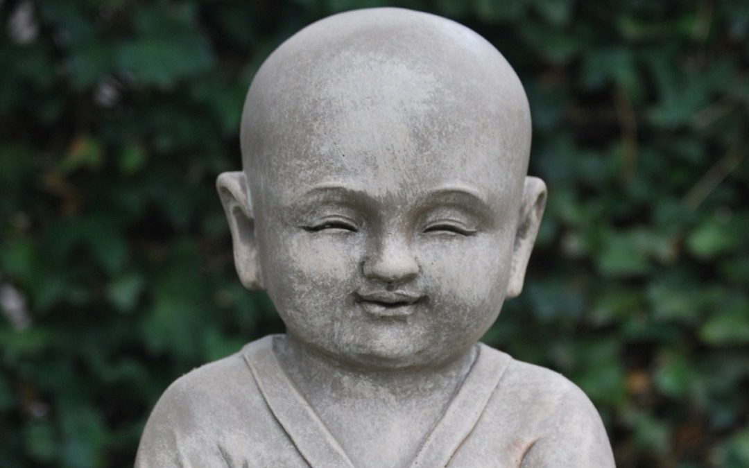 Buddha Statue Baby smiling (Sharing Spiritual Ideas with Your children)