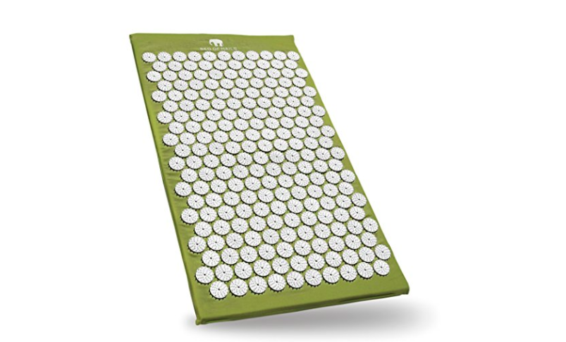 bed of nails green acupuncture mat