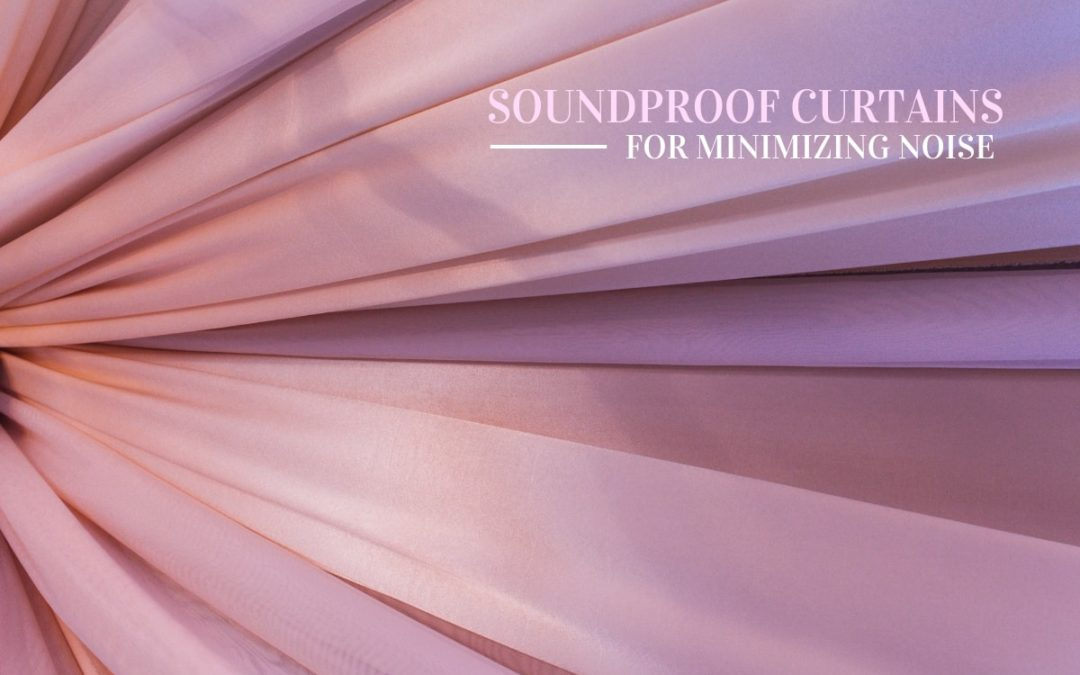 sounproof pink curtains