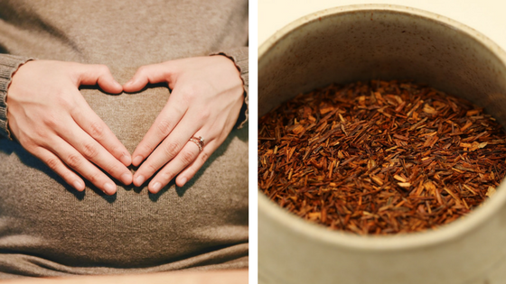 Is it safe to drink red rooibos tea during pregnancy?