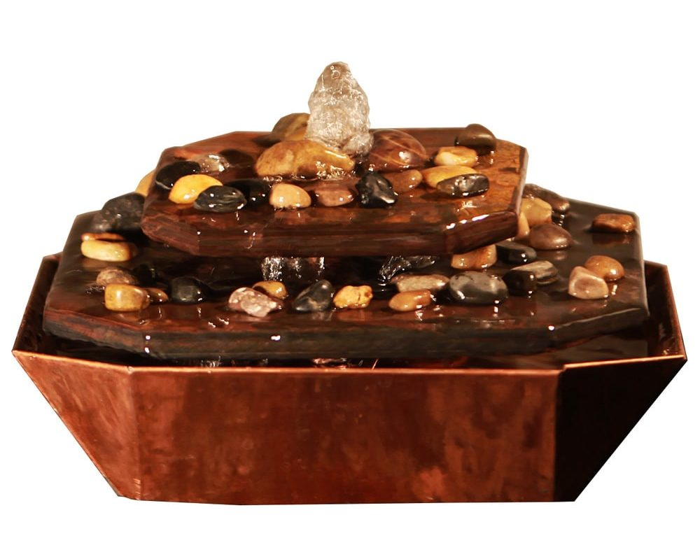This Elegant Water Fountain Is From BuddhaGroove (one Of My Favourite  Meditation Stores Online). The Theme Of The Fountain Is Set To Depict The  Mindful ...