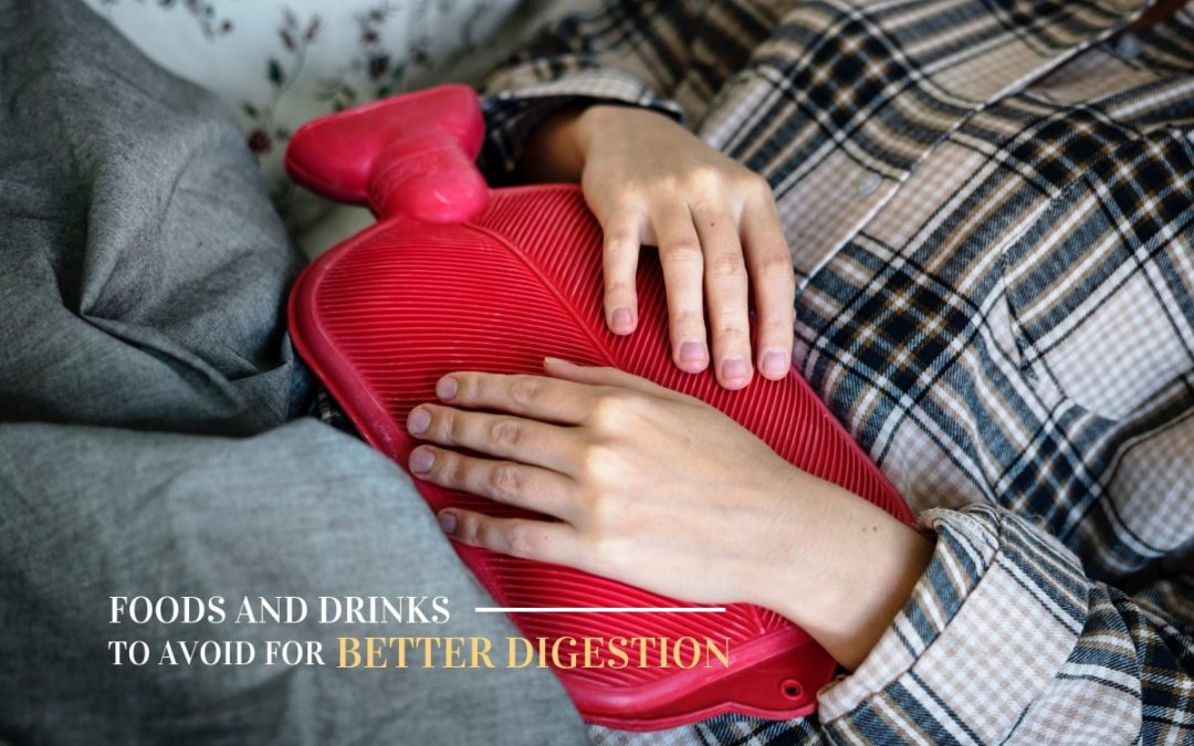 Foods and Drinks to Avoid for Better Digestion