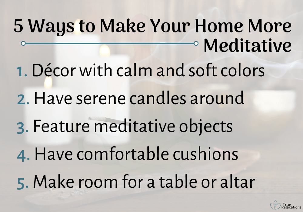5 ways to make your home more meditative