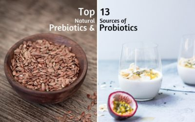 Top 13 Natural Sources of Prebiotics & Probiotics