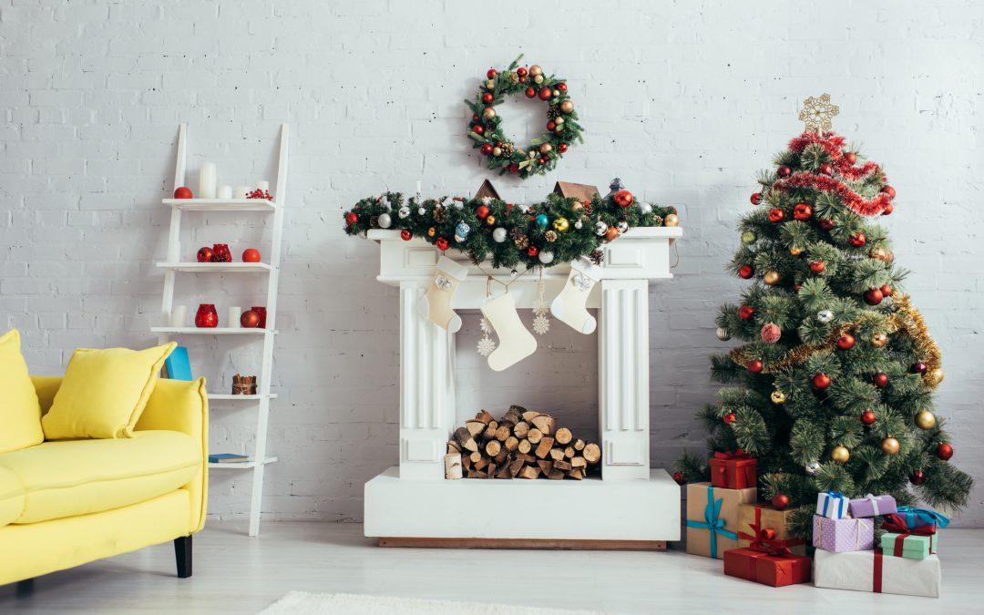Christmas decor room
