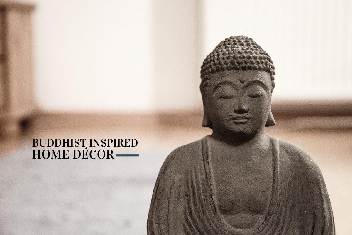 buddha buddhist decor statue