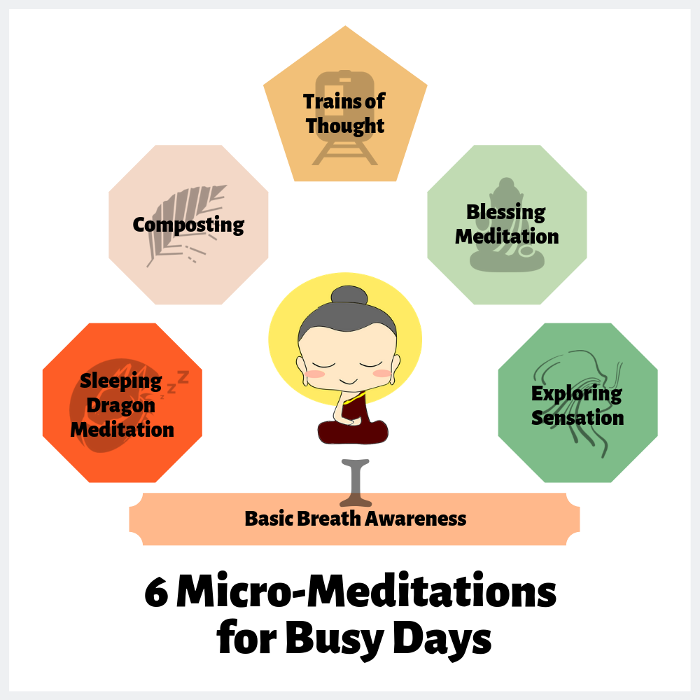 Micro meditations for busy days
