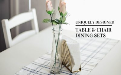 Unique Table and Chair Dining Sets (Eco-Friendly)