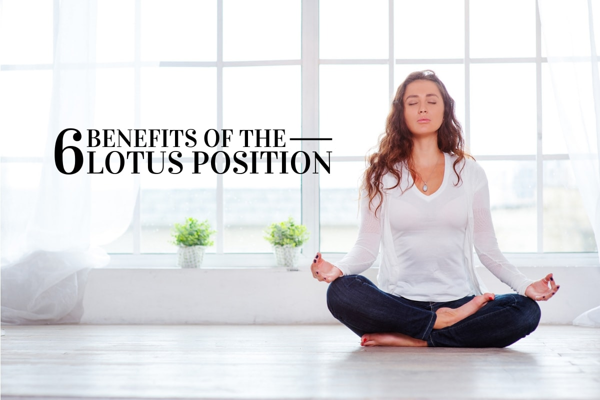 Benefits of Sitting in Lotus Position