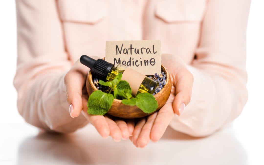 Natural medicine essential oils