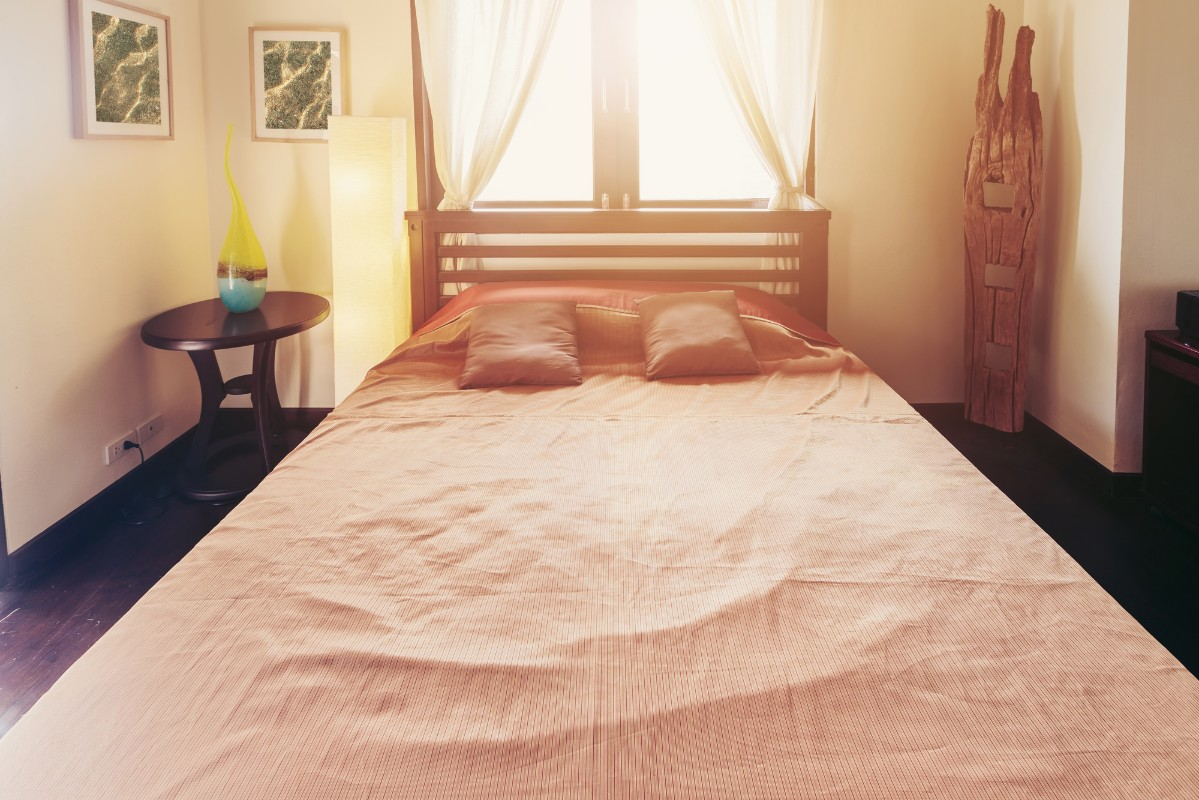 Dreamy bright bedroom