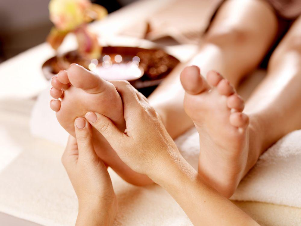 Massage foot