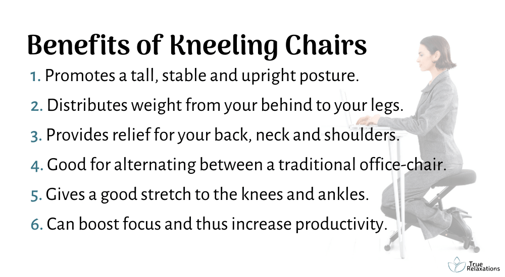 Benefits of kneeling chair