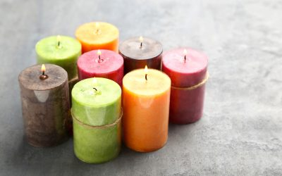 How to Color Candles Using Natural Dyes